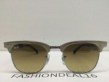 RayBan Clubmaster Brush Bronze 49mm RB3507 139/85 Sunglasses