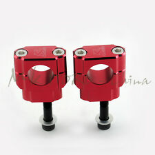 HandleBar Fat Bar Mounts Clamp Riser For Honda CR125 CR250 CRF250R  28MM