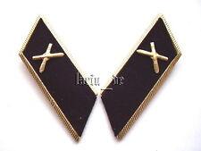 UdSSR Rote Armee Kragenspiegel für die Uniform - Jacke USSR collar tabs