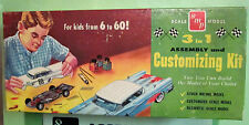 SMP 1958 Chevrolet Impala Hardtop HT Original 3-in-1 Annual in Box AMT Chevy 58