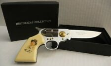 Billy the Kid Gun Shaped Knife collectible with paper gift box SG-KB309B-2 SALE