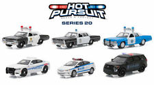 GREENLIGHT HOT PURSUIT SERIES 20, SET OF 6 POLICE CARS 1/64 BY GREENLIGHT 42770