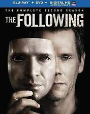 The Following: The Complete Second Season (Blu-ray Disc, DVD, 7-Disc Set) NICE!