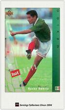 1994 UD World Cup U.S.A Trading Card Hotshot Hologram Card HS2:Nacho Ambriz