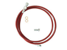 1992-2000 honda Civic 1994-2001 Acura Integra Stainless Steel Clutch Line Red