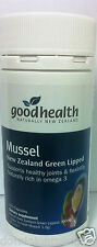 Good Health New Zealand Green Lipped Mussel 1500mg 150 Capsules DRP