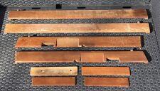 RANGE Rover Classic Wood PORTA relativi attacchi. Vera set completo incluso manico inserti