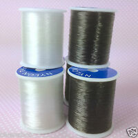INVISIBLE SEWING THREAD nylon 200 metres light or dark colour