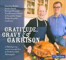 Gratitude Gravy & Garrison, New Music