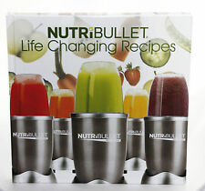 NutriBullet Life Changing Recipes Book Brand New Cook Book Hard Cover