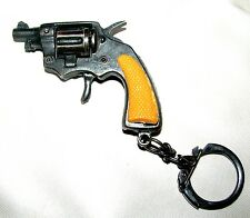 """PISTOL KEY RING/CHAIN 2"""" LONG ~ SOME WORKING PARTS"""