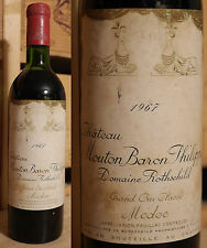 1967er Chateau Mouton Baron Philippe Rothschild - Pauillac - Top Füllstand !!!!