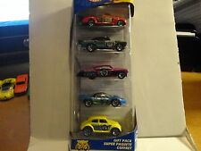 Hot Wheels 5 Car Gift Pack Robo Zoo w/Yellow VW Bug