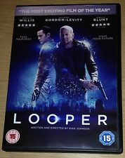LOOPER DVD Bruce Willis Emily Blunt (Region 2)