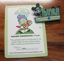 """Walt Disney """"Thanks For Supporting Environmentality"""" 1 3/4"""" Inches Pin / Brooch!"""