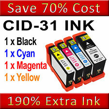 1 SET Ink Cartridge For Dell 31 V525W V725W