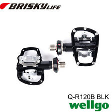 Free shipping Wellgo pedal QR 120B quick release road bike pedals