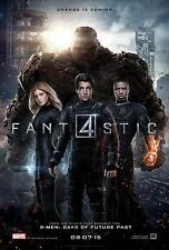 I FANTASTICI 4 FANTASTIC FOUR MANIFESTO MARVEL MR FANTASTIC INVISIBLE WOMAN