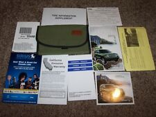 2011 Jeep Liberty Owner Operator Manual Sport Limited Renegade Edition 3.7L V6