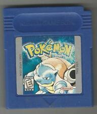 Nintendo Gameboy Pokemon Blue Version Very Rare Saves!
