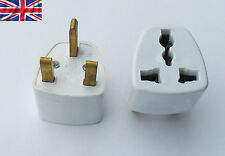 USA AMERICAN AUSTRALIAN AU US JAPAN PLUG TO UK MAINS PLUG TRAVEL WALL ADAPTOR