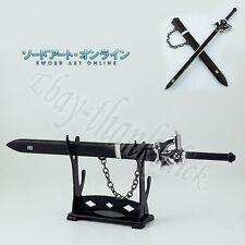 """Cool ! S.A.O. Sword Art Online Kirito Sword 28cm/11.2"""" Metal Toy No Box #3"""