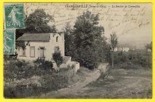 cpa 95 - Village de FRANCONVILLE (Val d' Oise) Le SENTIER de CORMEILLES
