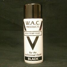 2 VHT Black Spray Paint Large 400ml Very High Temp Stove Paint Exhaust-Stove-BBQ