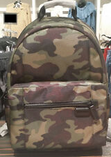 Michael Kors Travis Men's Nylon Limited Edition Camouflag Army Backpack Kent NWT