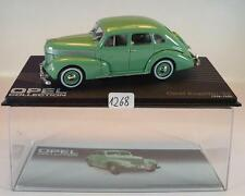 Opel Collection 1/43 Opel capitán 38 verde 1938 - 1940 en láminas box #1268