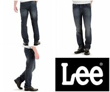 Lee Modern Series Straight Leg Jeans, Color Blue Devil 38 x 30,Style # 2013621