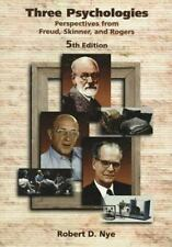 Three Psychologies: Perspectives from Freud, Skinner, and Rogers-ExLibrary