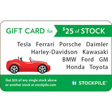 $25 Stockpile eGift Card Car - Fast Email delivery
