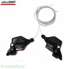 01080215 MTB-Schalthebel MARVO XE 3 x 9 Gang microSHIFT Fahrradschaltung