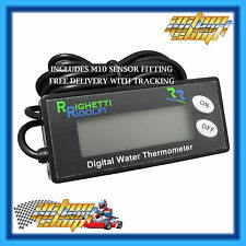 "GO KART "" DIGITAL WATER TEMPERATURE GAUGE "" ENGINE H2O TEMP UNIT 0-150 C"