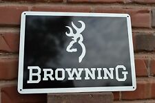 BROWNING FIRE ARM GUN SIGN 9mm HUNTING 725 BUCK MARK1911 ADVERTISING LOGO 7 Day