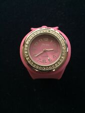 Geneva Platinum Pink Dial & Band Ladies Quartz Watch
