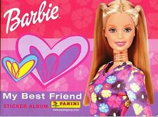 "PANINI: ALBUM FIGURINE ""Barbie My Best friend"" - COMPLETO (2002) + 23 Card"