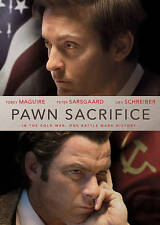 Pawn Sacrifice (DVD, 2015, canadian) Le Prodige. region 1