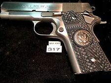 COMPACT 1911 GRIPS,FITS COLT OFFICERS,DEFENDERS,KIMBER CDP,SIG, U.S.ARMY,#3017