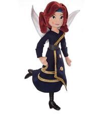 "Disney Store Zarina The Pirate Fairy Doll Fairies Tinkerbell 18"" Plush Toy MINT!"