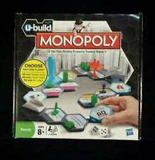 Monopoly Board Game U BUILD UBUILD U-Build MONOPOLY Hasbro NEW Unopened! RARE