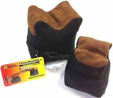 BENCHBAG 2 PIECE BENCH REST BAG SET TARGET RIFLE SHOOTING OUTDOOR CONNECTION