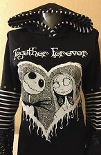 DiY Nightmare Before Christmas Hoodie Disney Jack Goth Regular or 1X Plus Size