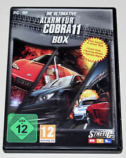 ULTIMATIVE ALARM FÜR COBRA 11 BOX - PC DVD - 3 SPIELE CRASH TIME BURNING WHEELS