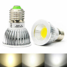 Ultra Bright E27 Dimmable LED COB Spotlight down lights bulbs 6W Natural White