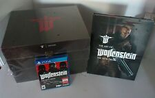 PS4 Wolfenstein The New Order Panzerhund Edition ExcG2 steelbook+Signed Art Book