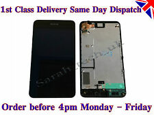 Genuine Nokia Lumia 630 635 Touch Screen Digitizer LCD screen Assembly w/ frame