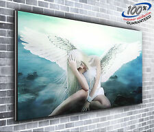 Heavenly Angel Stunning Panoramic Canvas Print XXL 4 foot wide x 1.5 foot high