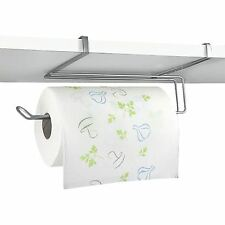Kitchen Roll Holder Paper Towel Dispenser Under Shelf Cabinet Cupboard Organiser
